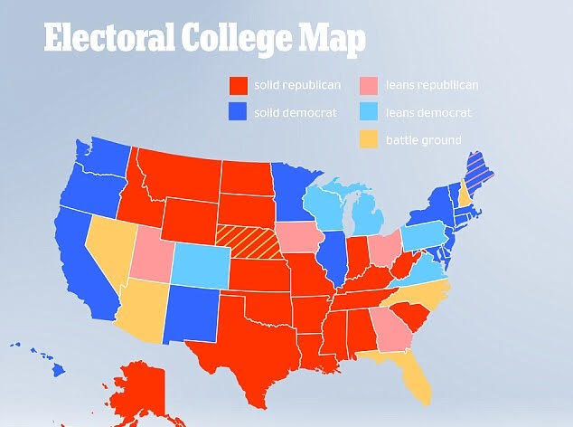 Electoral College Tie What are Stock Market Volatility and Junk